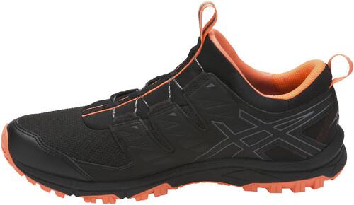 zapatillas asics hombre running 9 naranjas y negro